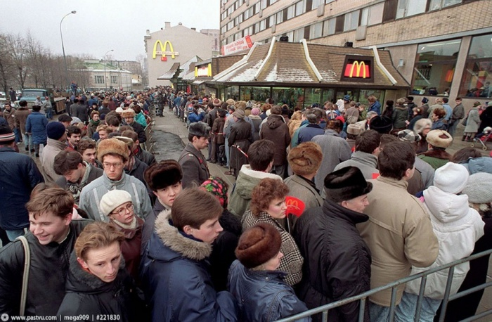 Первый Макдональдс в Москве