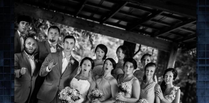 шедевральное свадебное фото