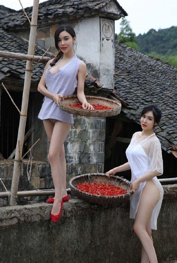Китайские селянки
