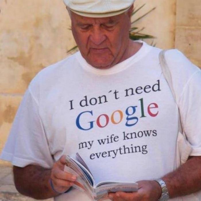 Всем женатым мужикам по такой футболке