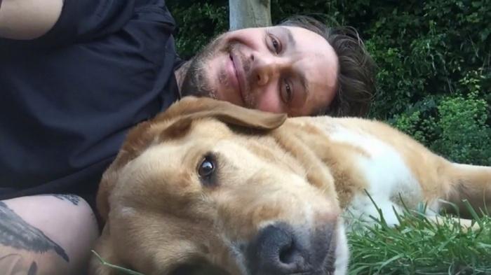 Том Харди о своем псе Вуди, которого не стало