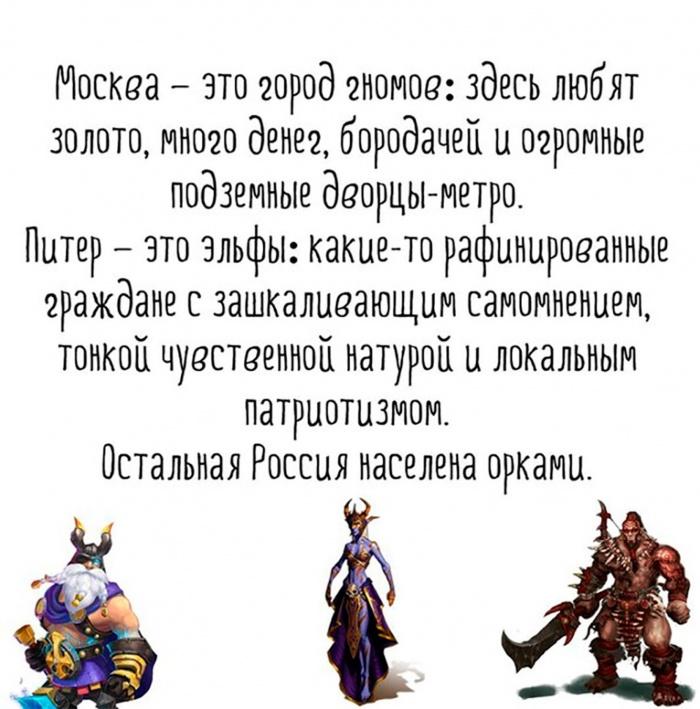 Россия - средиземье населенное орками