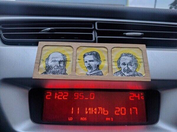 Правильные иконы в авто