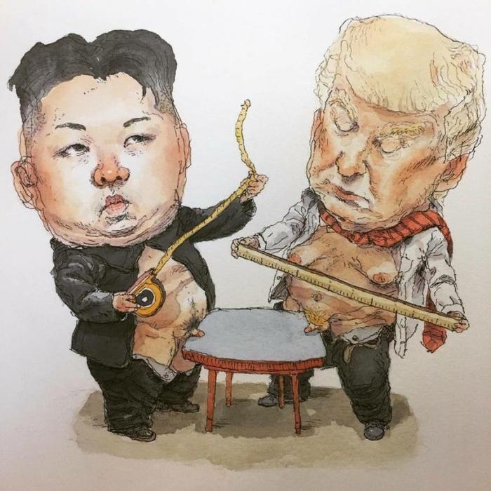 Корея VS США - вся суть