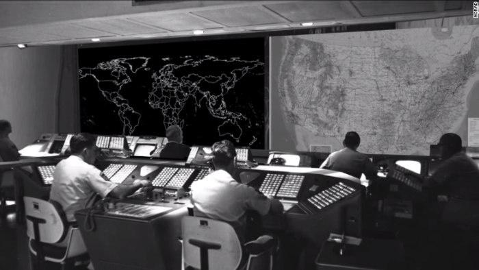 Командный центр континентальной противовоздушной обороны, США, 1955 год.