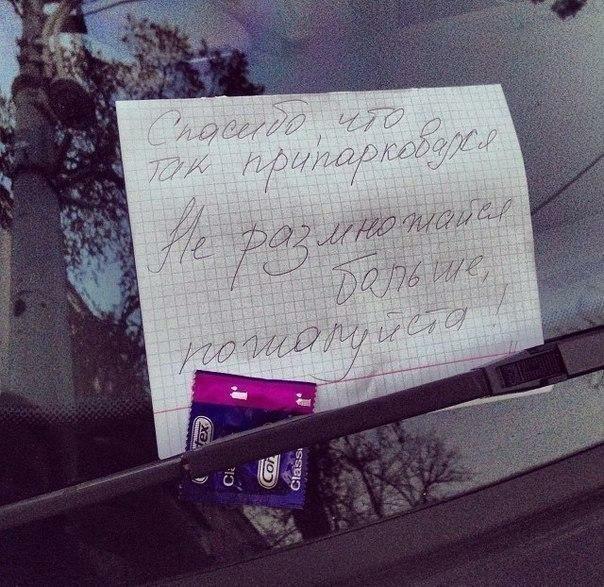 Гений парковки