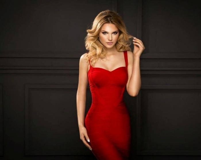 Красное платюшко