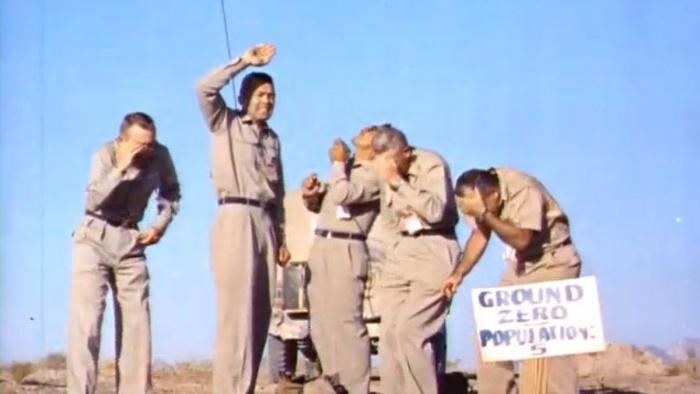 Пять смельчаков в эпицентре ядерного взрыва
