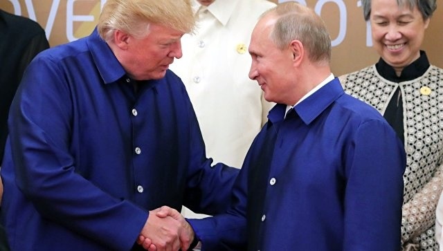 Блог им. BO3DYX: Владимир Путин и Дональд Трамп на полях саммита АТЭС