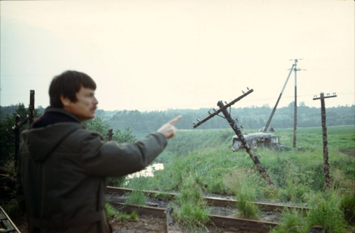 "Фотографии со съемок фильма А.Тарковского ""Сталкер"""
