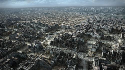 Руины Варшавы