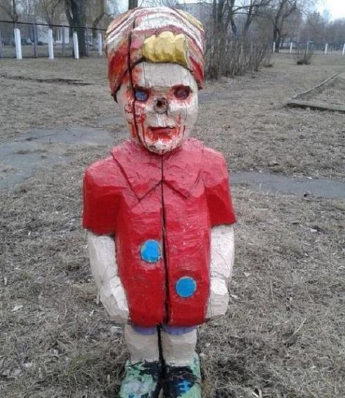 Ужасы детских площадок