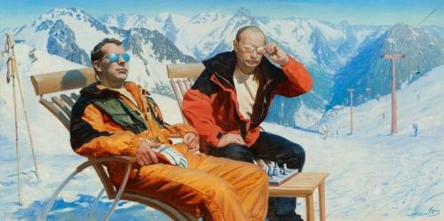 Картины художника Александра Акопова