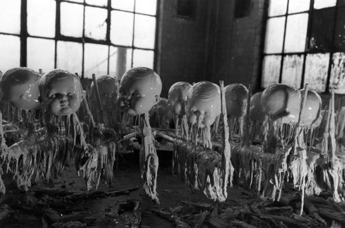 Советская фабрика игрушек.