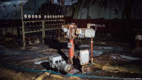 В турбинном зале четвертого реактора