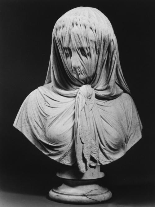 Женщина в вуали. Джованни Батиста Ломбарди, 1869.