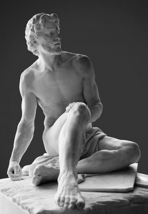Архимед. Симон Луис Буке, 1752. Лувр.