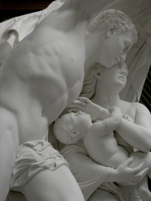 Бегущие из Помпеев. Один из монументов ботанического сада Балларата.