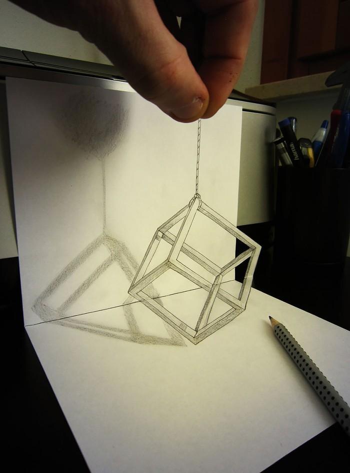 Как сделать в виде рисунка карандашом
