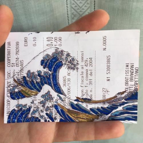 """Кацусика Хокусай. """"Большая волна в Канагаве"""""""