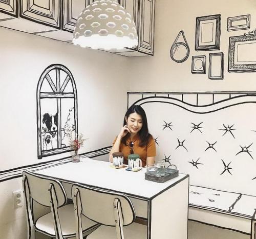 Кaфе в Сеуле