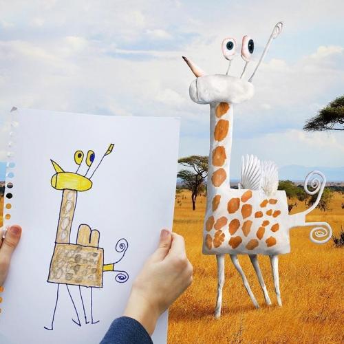 Если бы детские рисунки стали реальными?