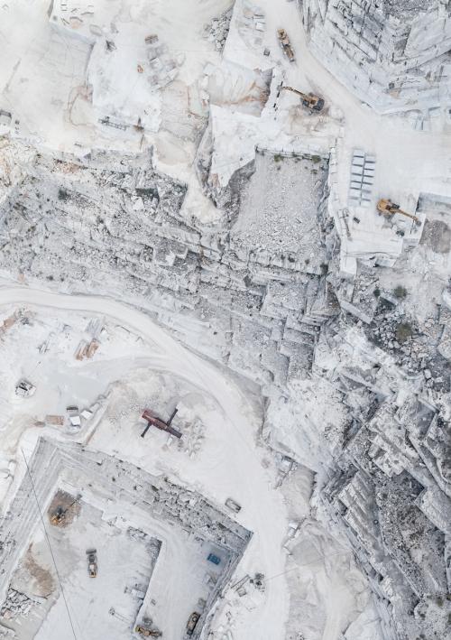 Каррарские мраморные шахты. Фото Бернхарда Ланга