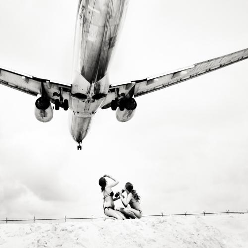 Аэропорт на острове Сен-Мартен