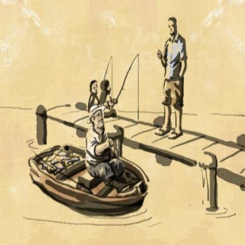 притча нищий и рыбак