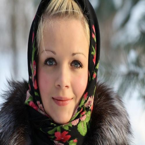 Вот идеальная женщина по-русски.