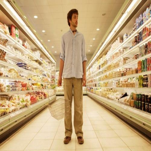 Парни в супермаркете