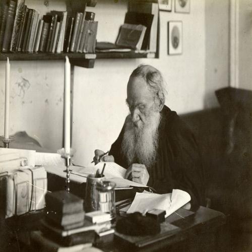 Лев Толстой о борьбе с ленью.