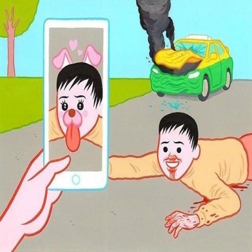 Snapchat в нестандартной ситуации